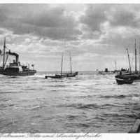 Reger Schiffsverkehr